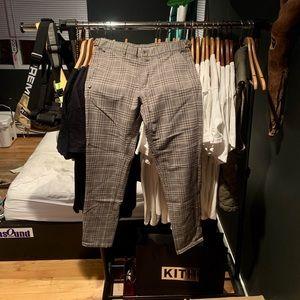 ZARA MEN PLAID PANTS | BRAND NEW